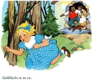 Goldilocks se ne va